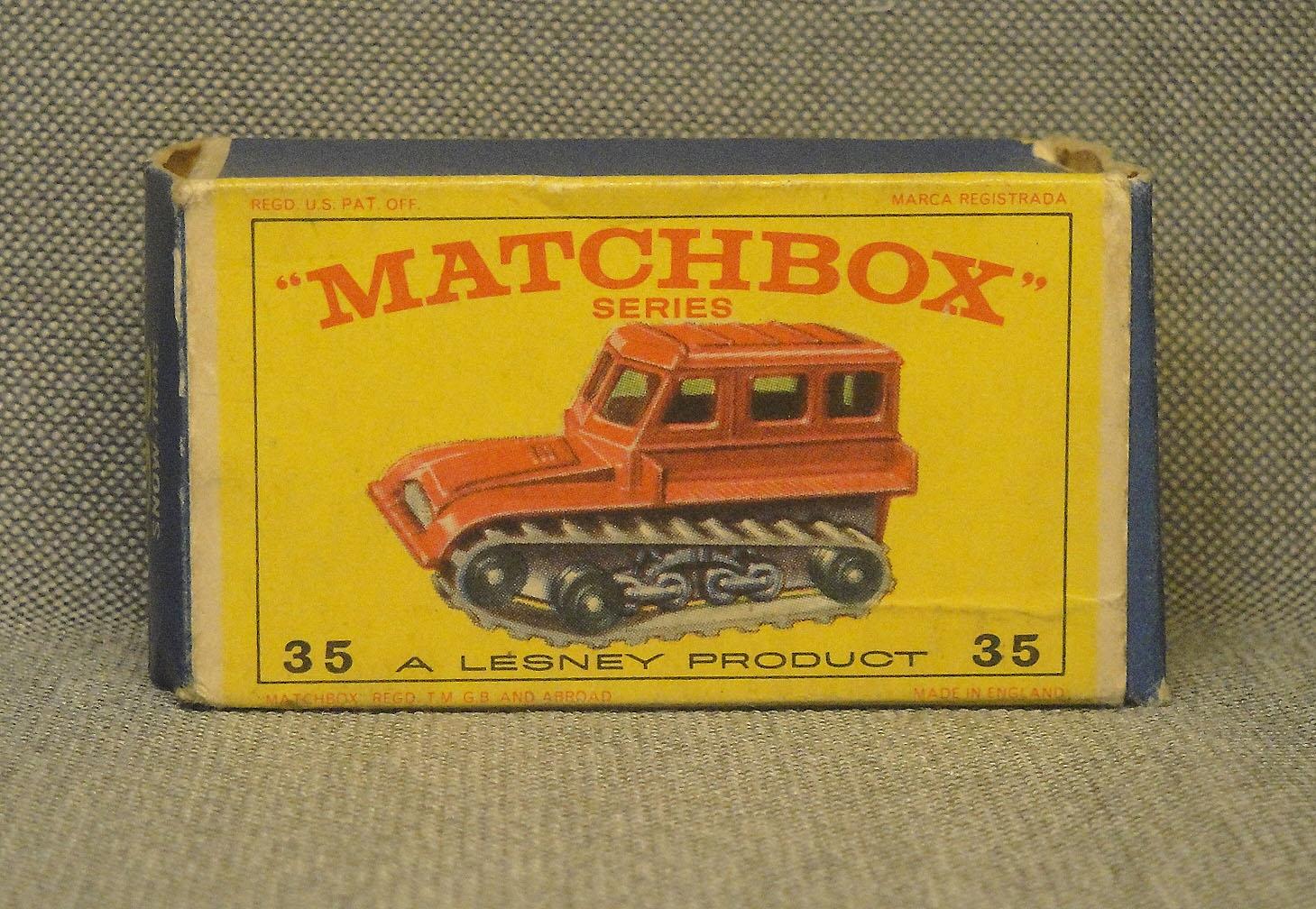 Archivo de autos: Tractor de nieve de Matchbox