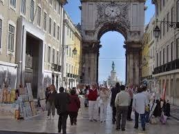 Portugal, Lisboa,Rua Augusta