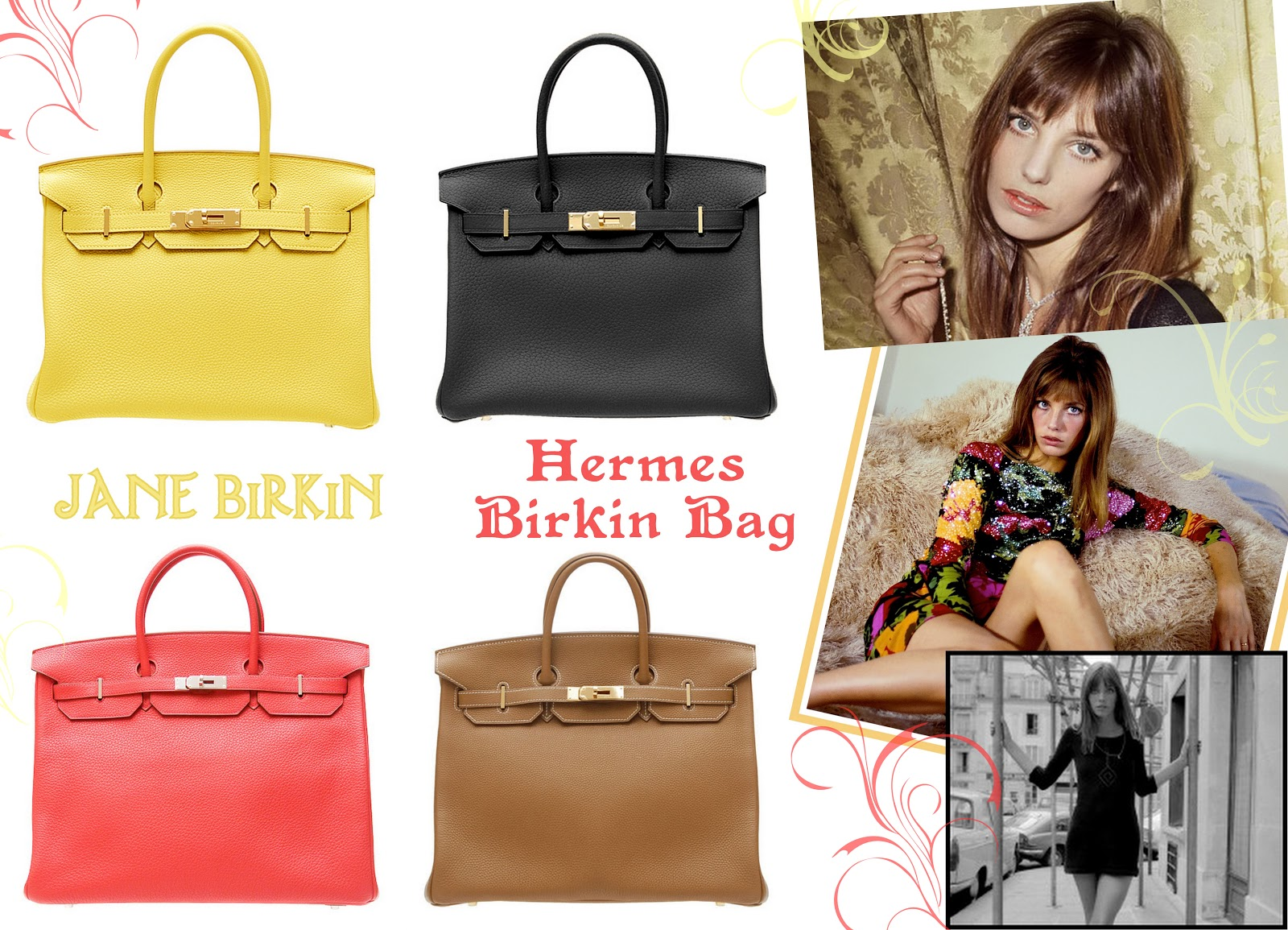 ceb945b85 Arguably the most famous of all namesake bags, The Hermés Birkin bag is  also the most expensive, ranging anywhere from $10 000 to $150 000.