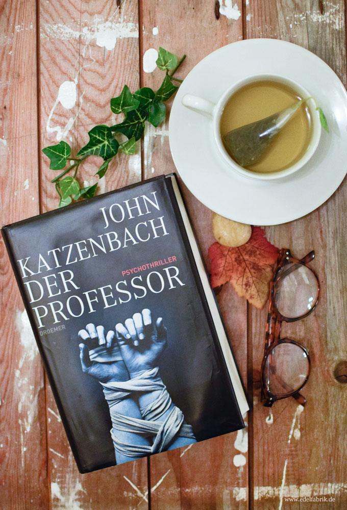 John Katzenbach, der Professor, Lesetipp, Buchtipp für den Herbst