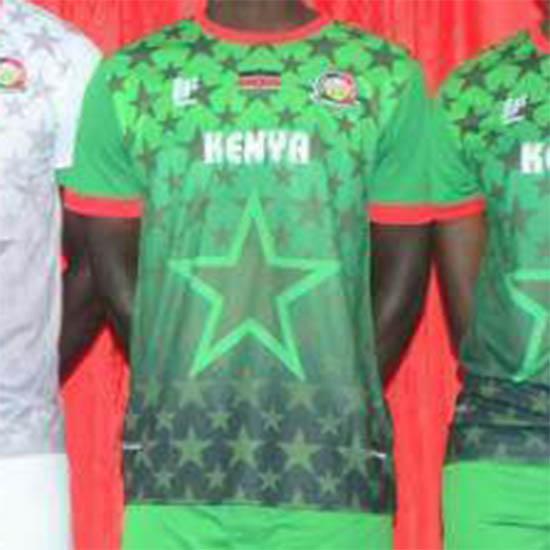 KENYA Offiziell Mafro Away Football Shirt 2017-2018 NEW Mens Jersey Green FKF