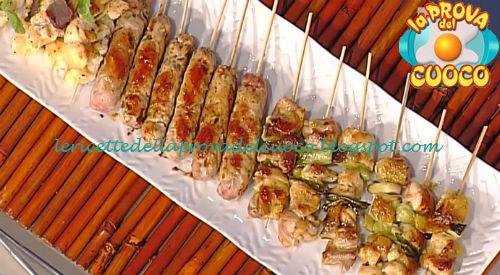 Spiedini di pollo grigliati ricetta Shoda da Prova del Cuoco