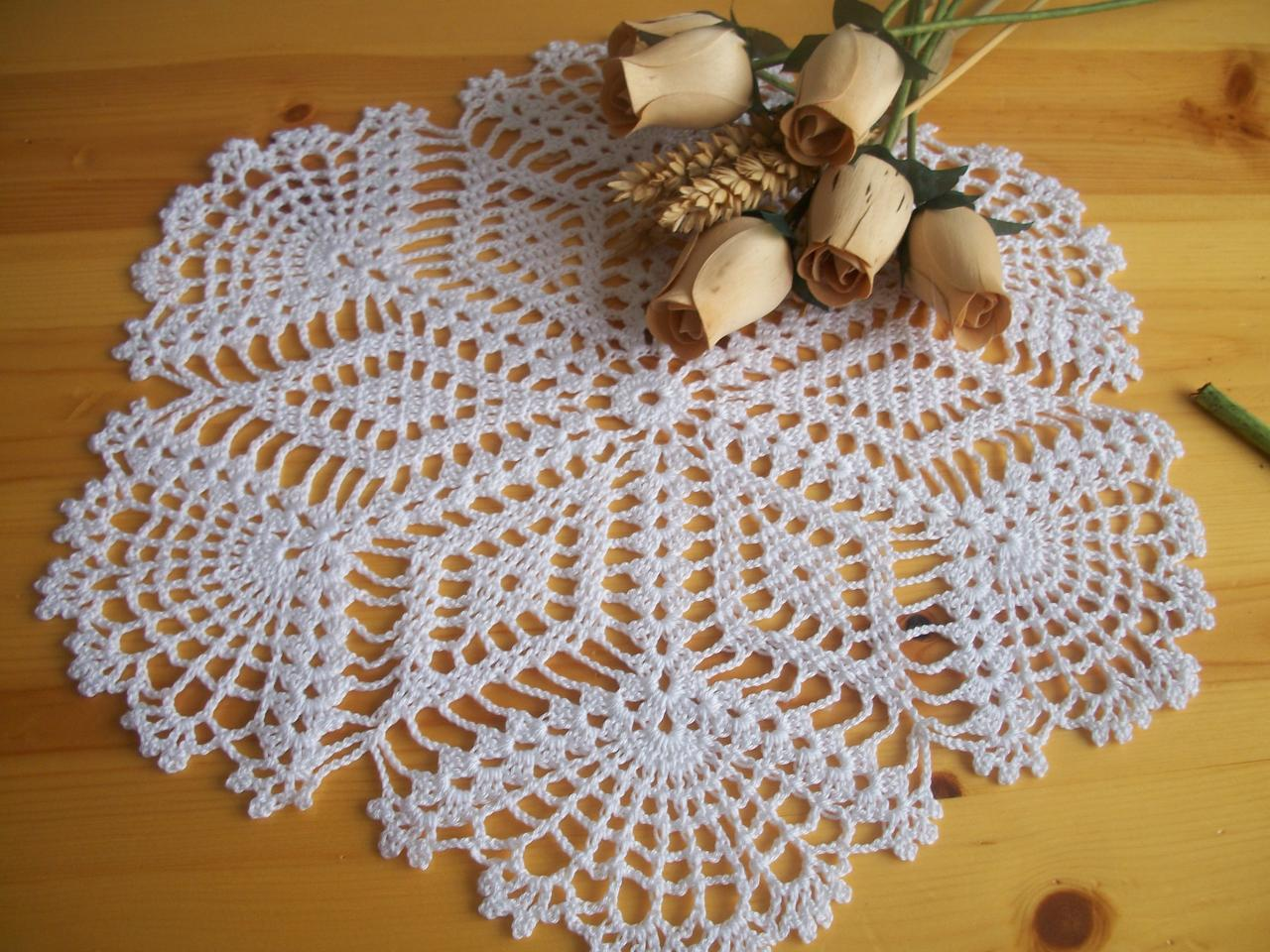 Le crochet des8jika napperon rond au crochet - Napperon crochet grille gratuite ...