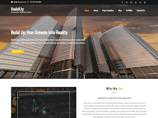 тема WordPress Buildup