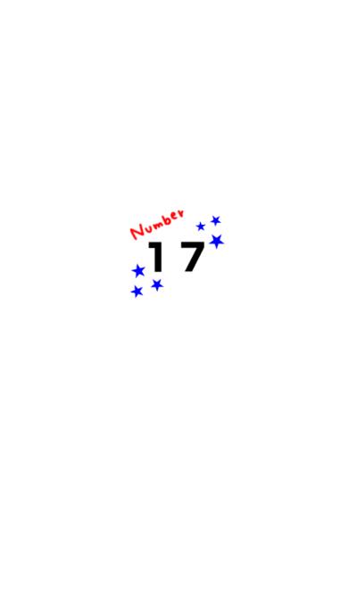 Someone who likes 17