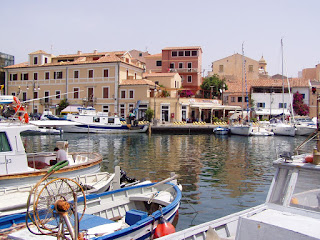 The harbour at La Maddalena