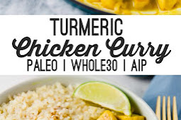 turmeric chicken curry (paleo, whole30, aip)