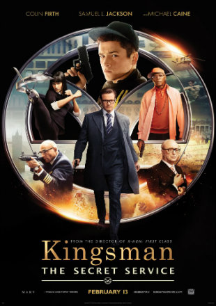 Kingsman The Secret Service 2014 BRRip 720p Dual Audio Download