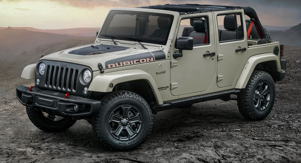 Jeep Rubicon 2017 Tuning >> Jeep Reveals New Wrangler Rubicon Recon For Off-Road Aficionados