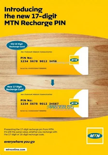 MTN 17-Digit Recharge Card PIN