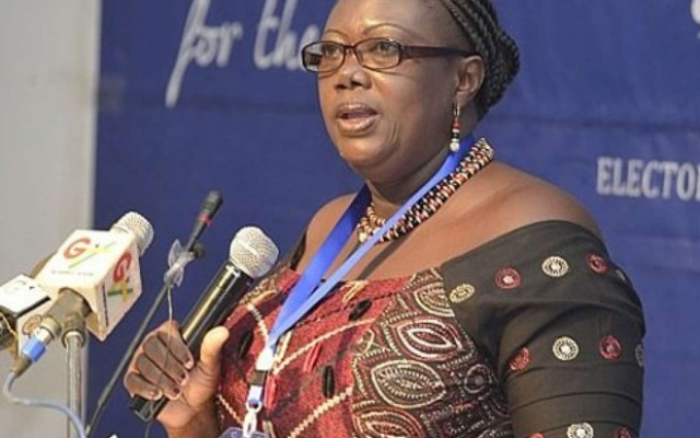 Georgina Opoku Amankwah, Deputy Commissioner of the Electoral Commission