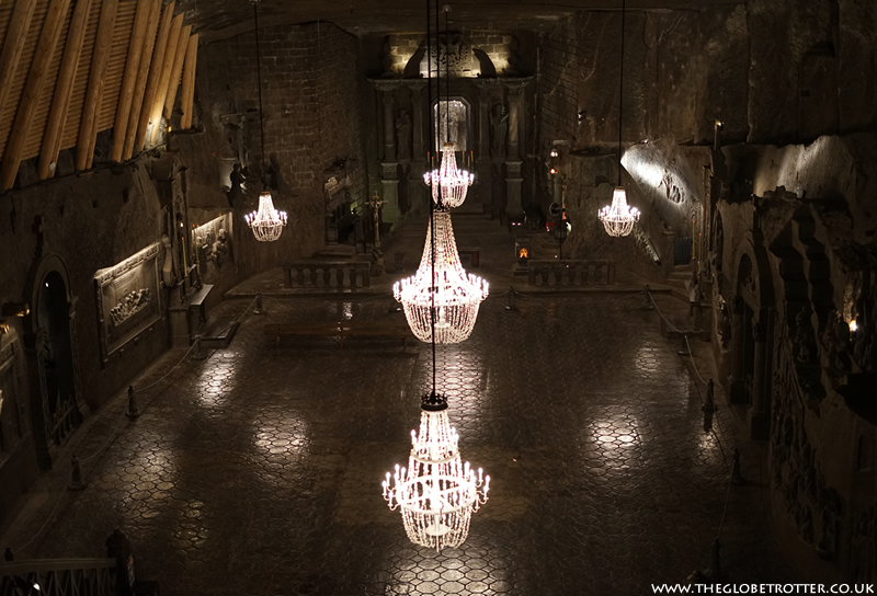 Wieliczka Salt Mine - The Chapel of St Kinga