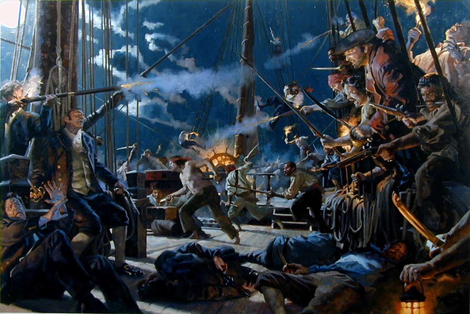 Pirates: Pirate Paintings For National Geographic Pt. 2