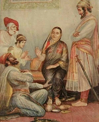 छत्रपति शिवाजी - प्रजा का राजा ।