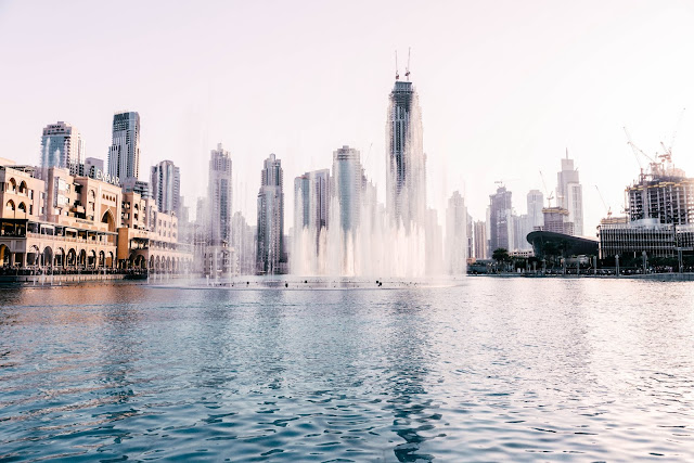 visit free places in dubai fountain