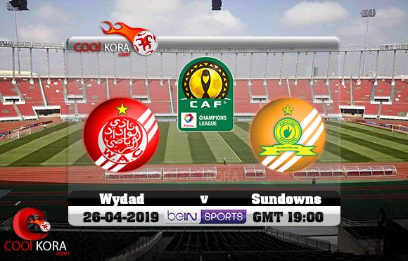 مشاهدة مباراة الوداد وصن داونز اليوم 26-4-2019 دوري أبطال أفريقيا