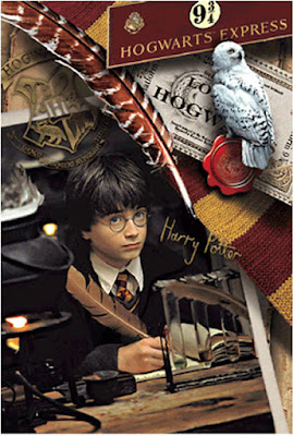 Harry Potter 3D Lenticular Card