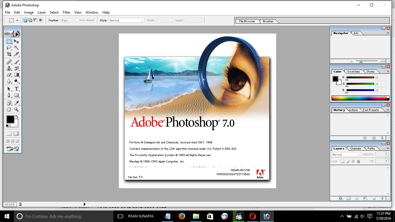 adobe photoshop 7.0 with serial