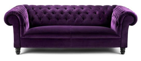 image of a purple sofa