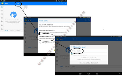 Cara login metatrader 4 di android