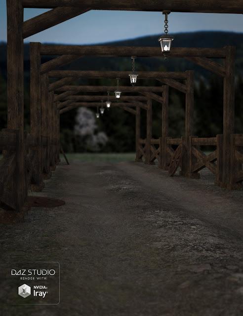 Ranch Road Path