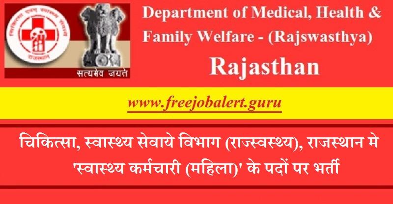 Rajswasthya Recruitment 2018