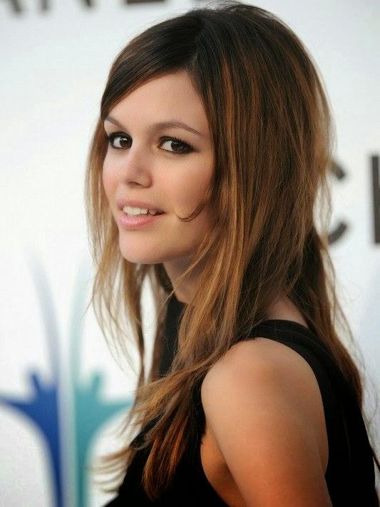 Cute long ombre hair side view Rachel Bilson hairstyle}