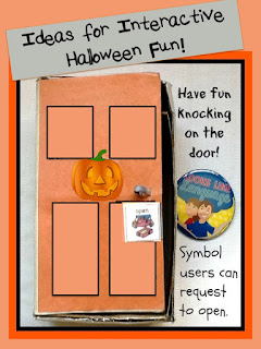 Easy Ideas for Halloween routines in play from Looks-Like-Language
