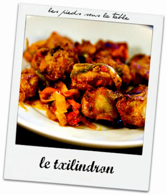 LE TXILINDRON  le ragout traditionnel basque