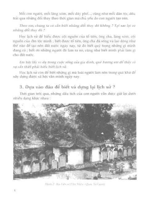 Trang 5 sach Sách Giáo Khoa Lịch Sử Lớp 6