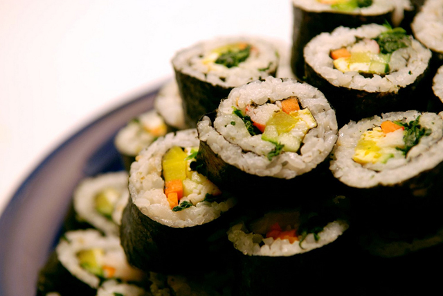 Kimbab makanan Korea