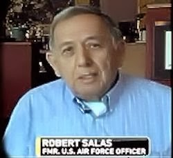 Retired USAF Officer, Robert Salas