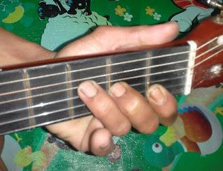 Chord gitar F (F mayor)