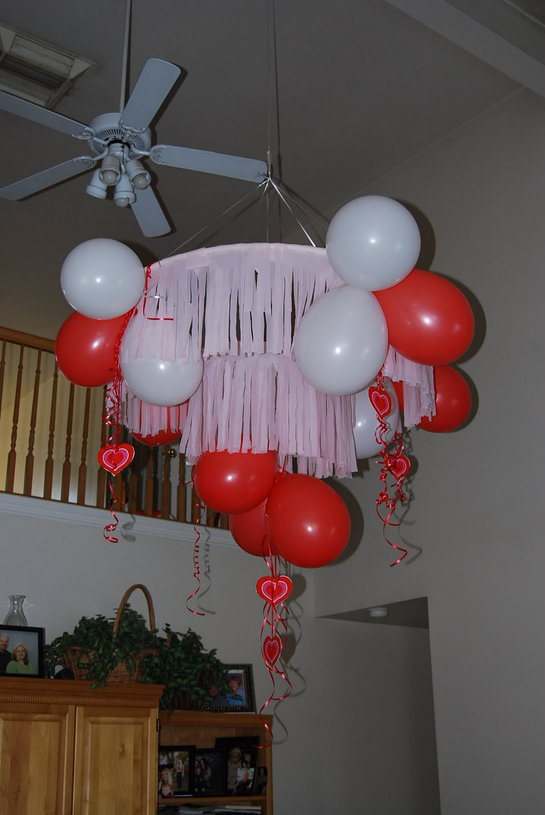Define Your Sign Balloon Chandelier Tutorial