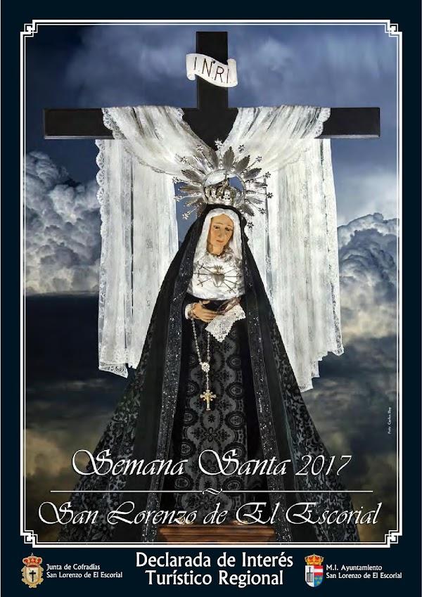 Programa, Horario e Itinerario Semana Santa San Lorenzo del Escorial (Madrid) 2017