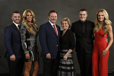 Richard Childress and family during the NASCAR Hall of Fame Class of 2017 Induction Ceremony at NASCAR Hall of Fame on January 20, 2017 in Charlotte, North Carolina.