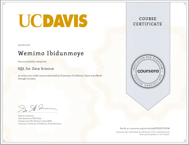 I finally completed an MOOC💃