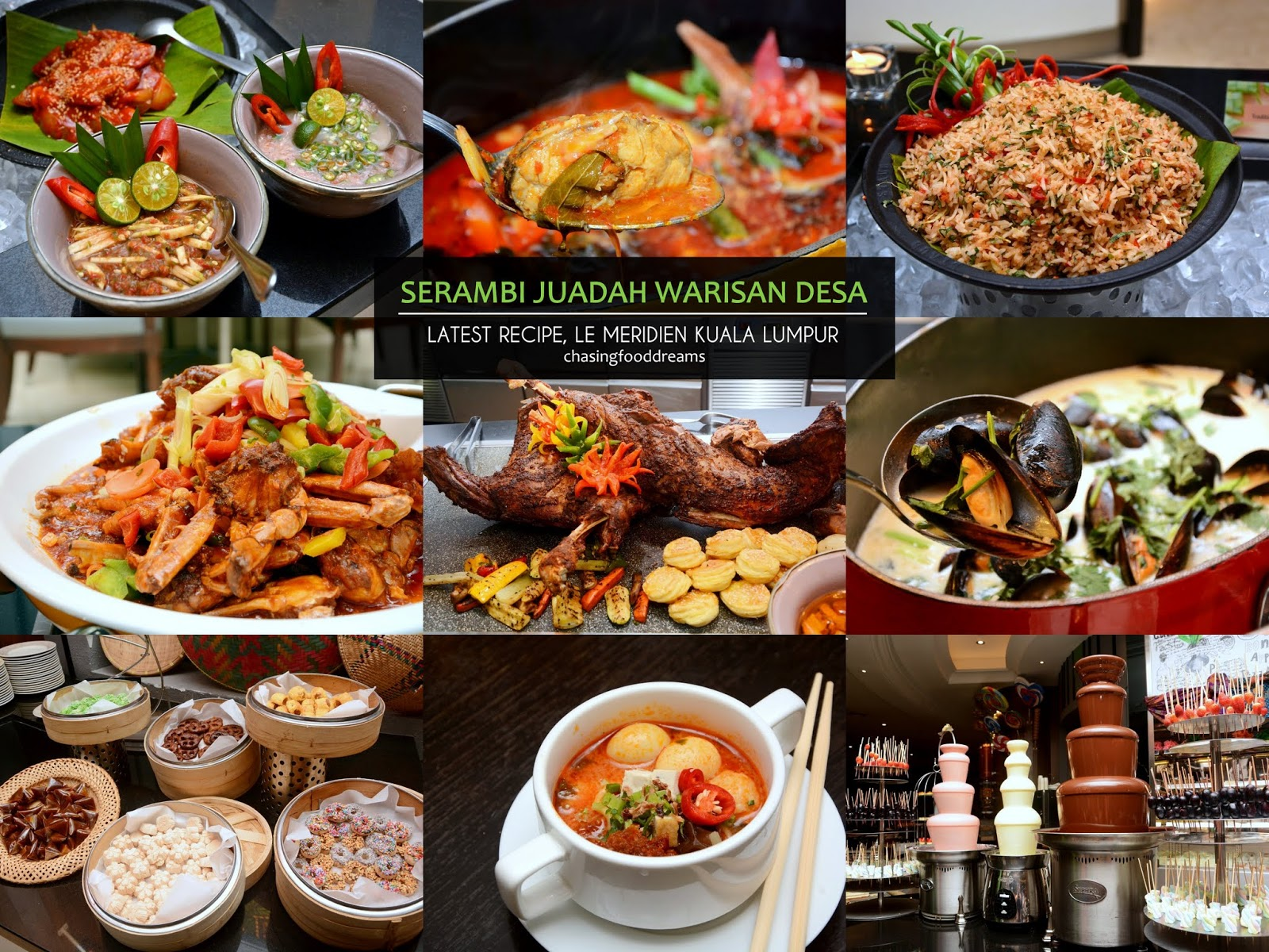 chasing food dreams buka puasa buffet recipe le