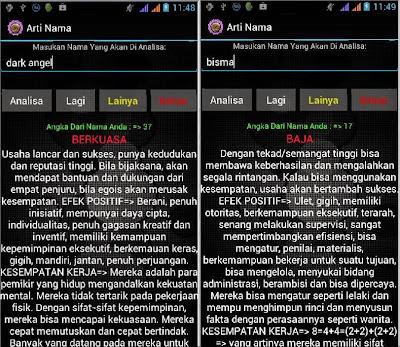 Download aplikasi Arti Nama anak Ramalan Nama di Android gratis offline terbaru terpercaya
