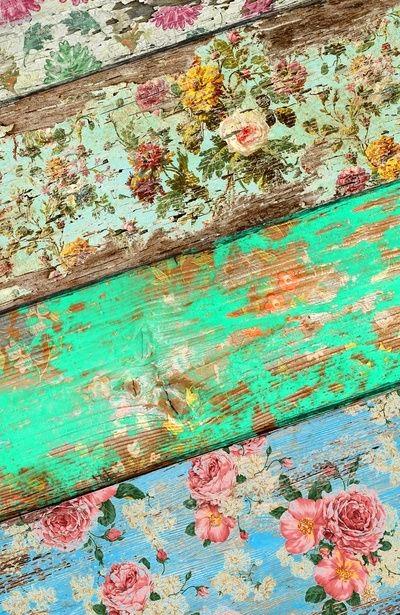 Dishfunctional Designs Beautiful Bohemian Floors Painted