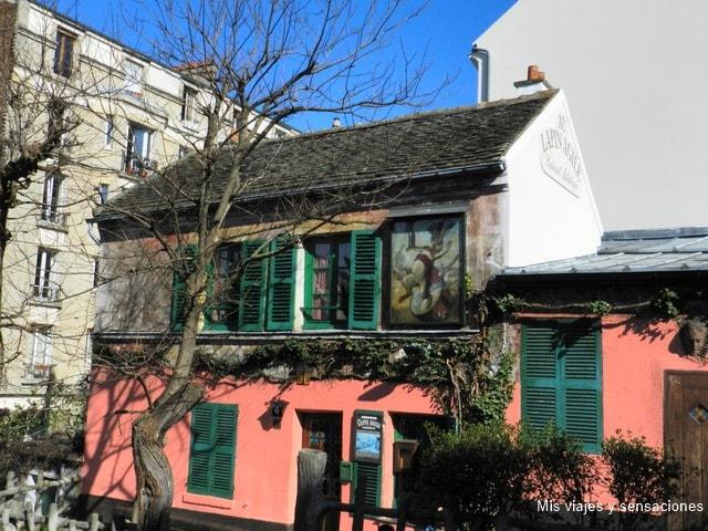 Cabaret Au Lapin Agile, barrio de Montmartre, París