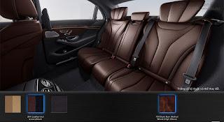 Nội thất Mercedes S400 L 2017 màu Đen 201