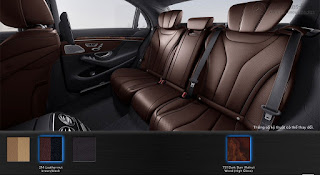 Nội thất Mercedes S450 L 2018 màu Đen 201