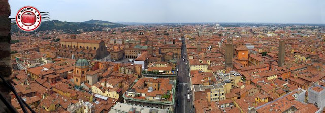Bolonia, panorámica desde Torre degli Asinelli