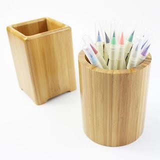 Wadah Pensil Dari Bambu