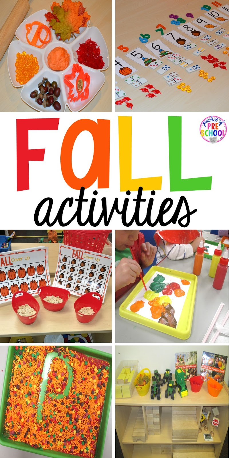 preschool fall theme fall themed activities for learners pocket of 174