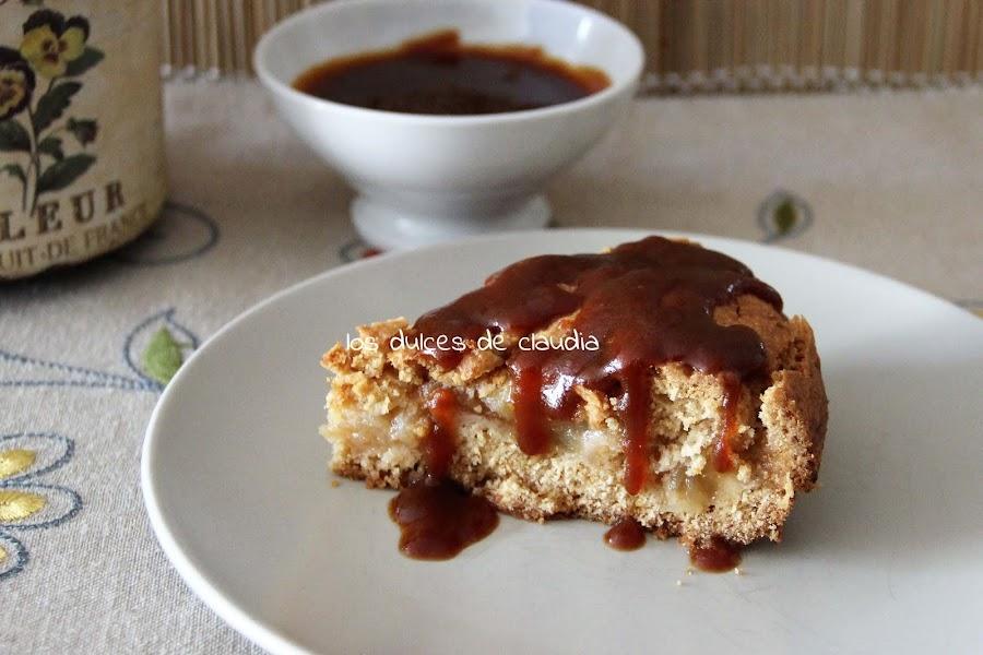 galleta rellena con manzana