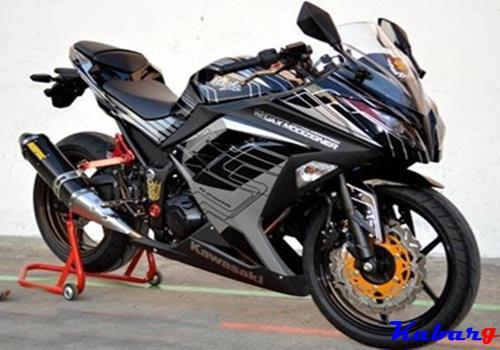 Kumpulan Poto Modifikasi Motor Ninja 250r Terbaru 2016