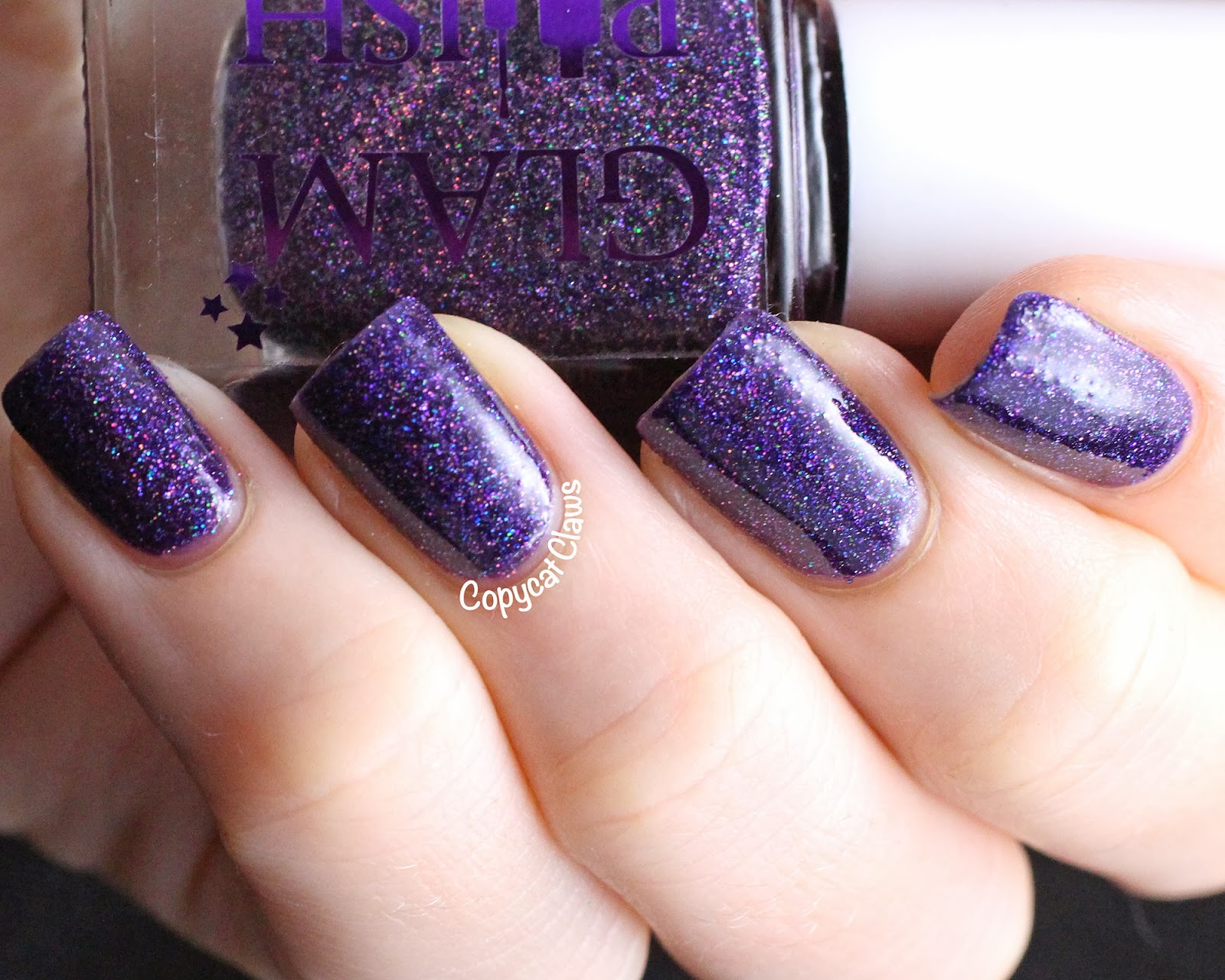 Copycat Claws: Glam Polish Swatches & Review