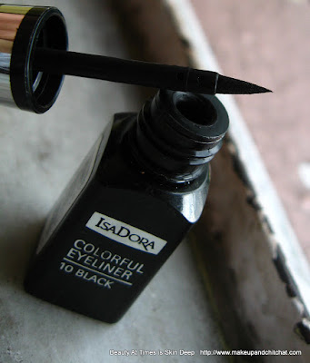 Isadora Colorful Eyeliner 10 Black